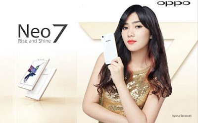 OPPO Neo 7 A33W RAM 1GB