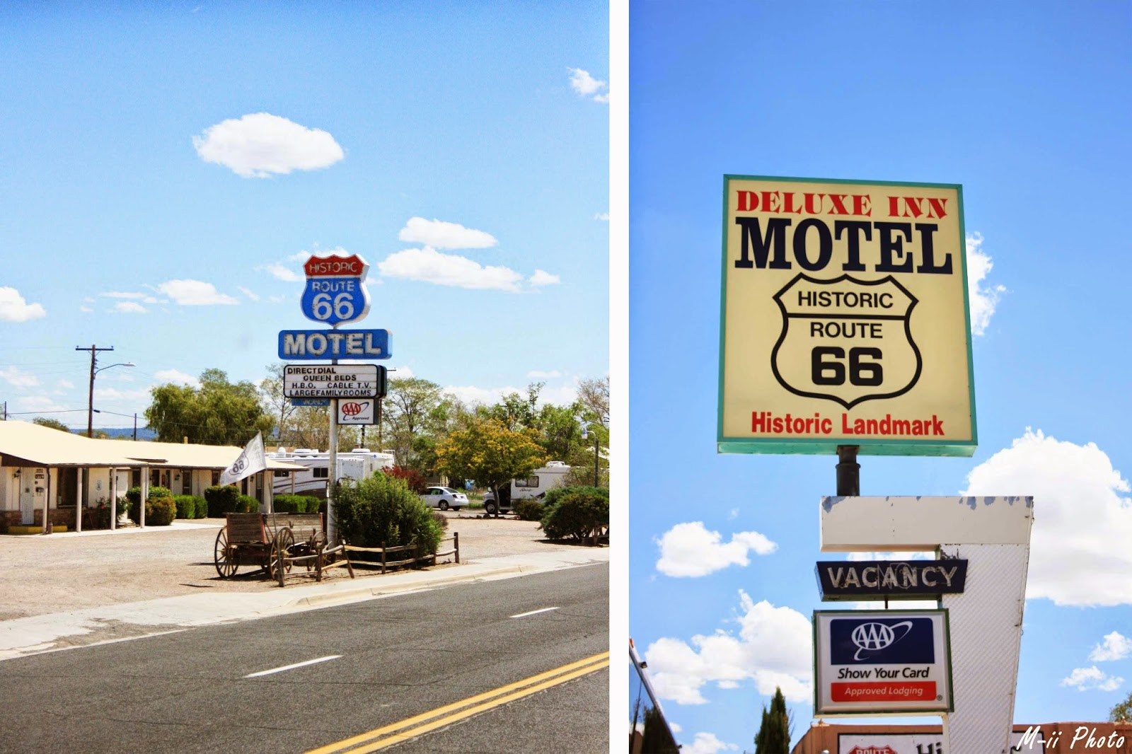 M-ii Photo : Route 66 Seligman
