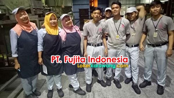 Loker Operator Produksi   PT. Fujita Indonesia Tahun 2018 Februari 2018
