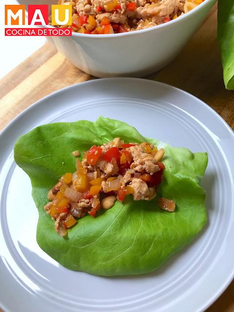 tacos de pollo asiatico receta mau cocina de todo estilo pf changs