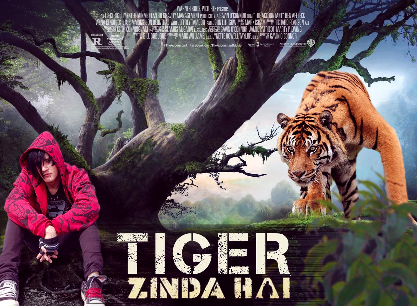 tiger zinda hai movie poster design photoshop tutorial tiger zinda hai movie poster design