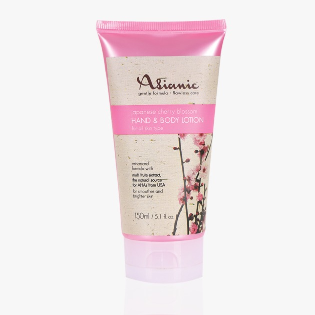 Asianic Cherry Blossom Shower Cream