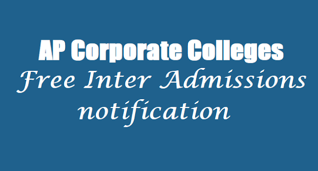 AP Corporate Colleges,Free Inter Admissions, Inter 1st year admissions