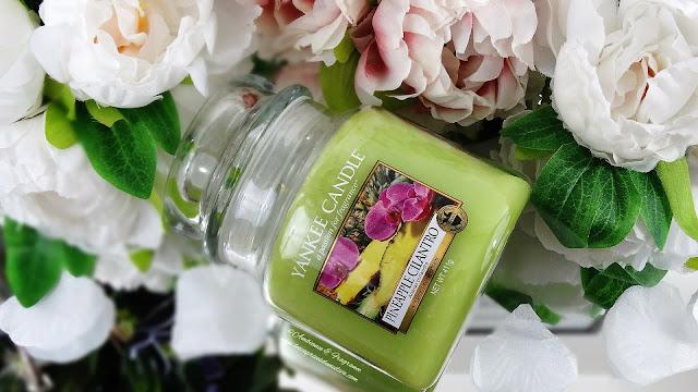 avis bougie pineapple cilantro yankee candle