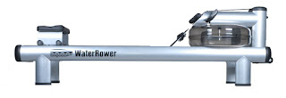 WaterRower M1 HiRise Rowing Machine, water flywheel with coated-tubular steel construction, image, review features & specifications