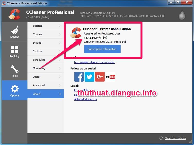 Download CCleaner v5.42.6499 Full Key miễn phí mới nhất