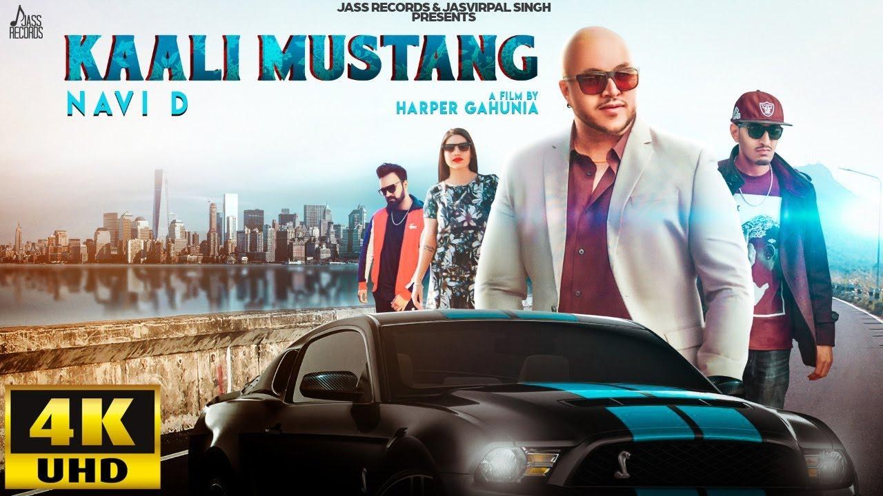 Kaali Mustang Song Lyrics by Navi D | Latest Punjabi Song 2019