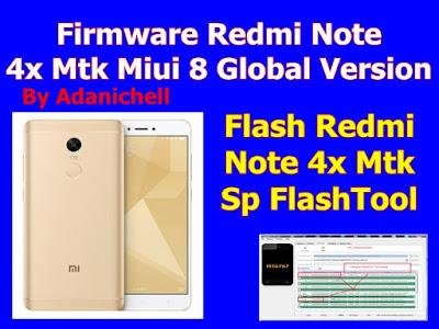 Firmware Redmi Note 4x Mtk Miui 8 Global Version Tested