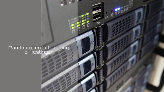 Cara membeli hosting di hostinger