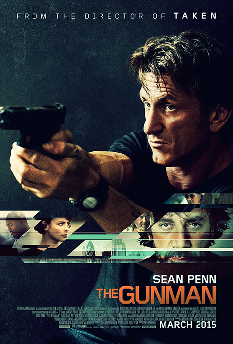 Poster The Gunman