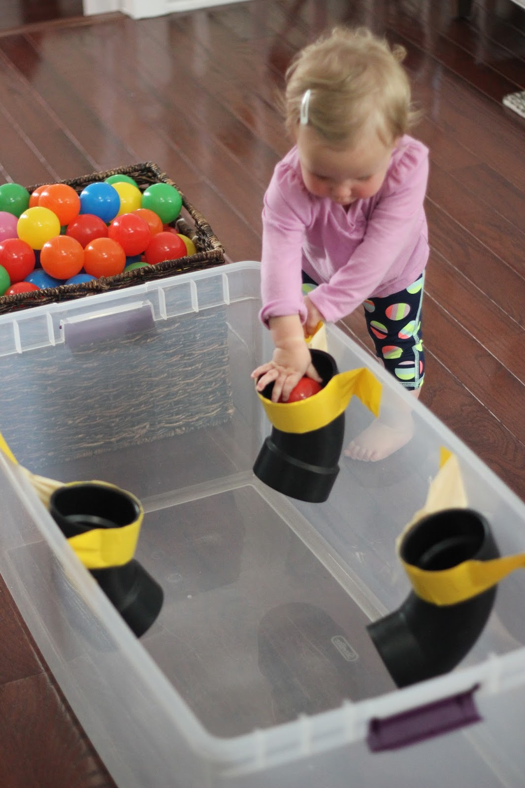 Toddler Approved Pvc Pipe Ball Drop For Kids