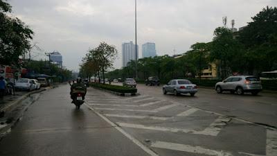雨模様のバンコク