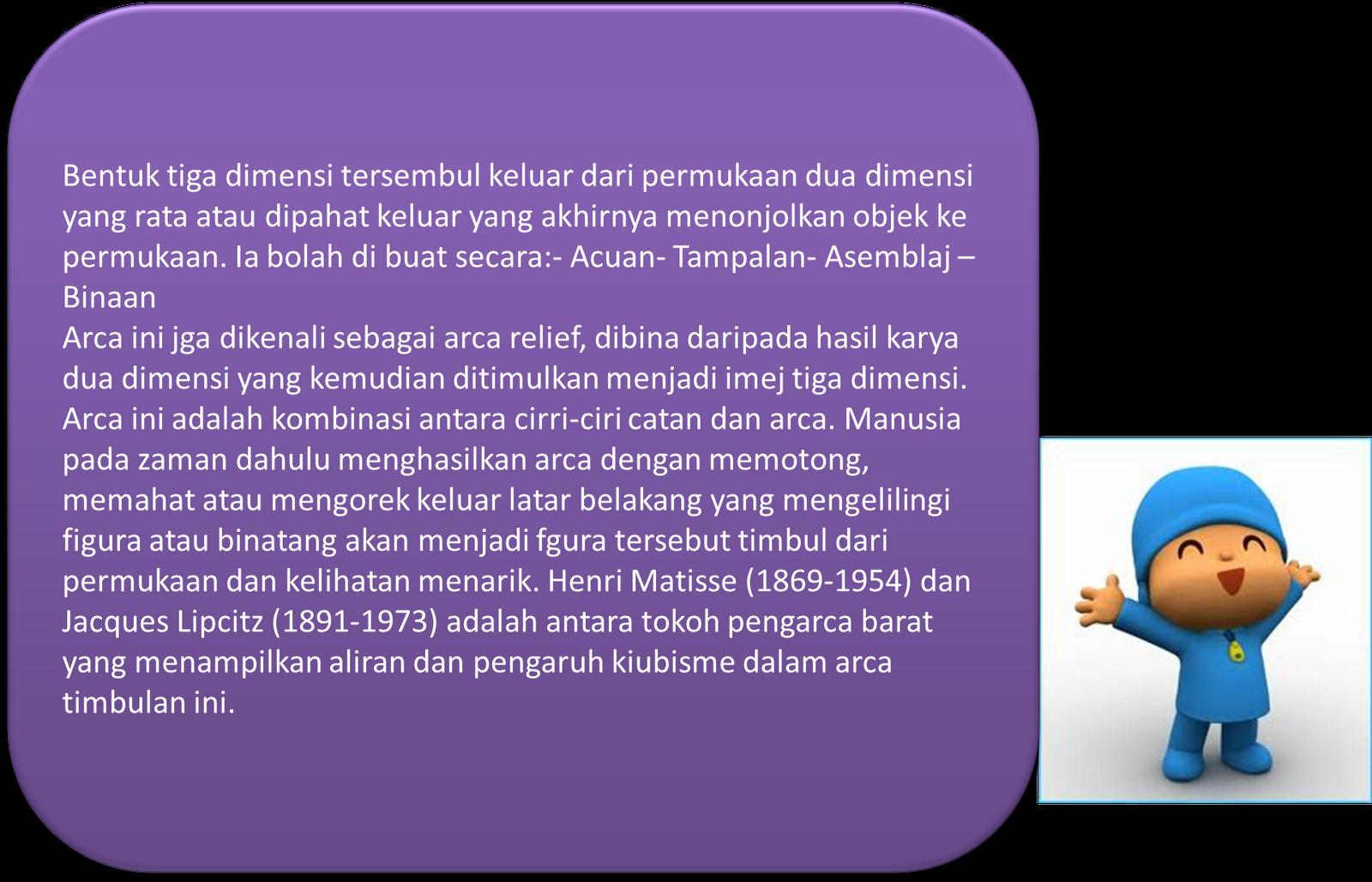 Definisi Arca Timbulan