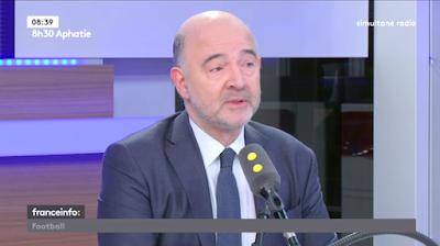 Pierre Moscovici commissaire européen