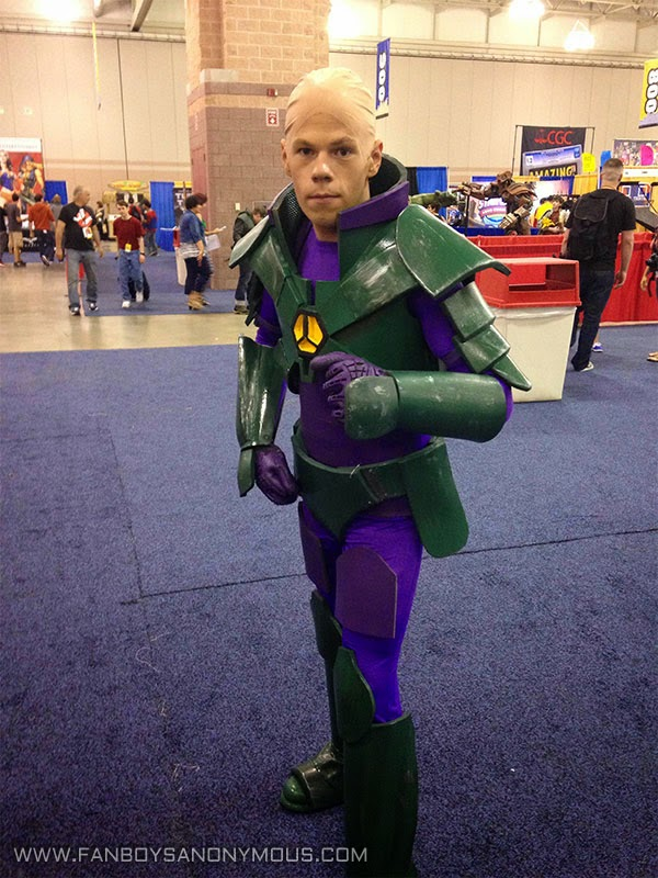 armored Lex Luthor cosplay