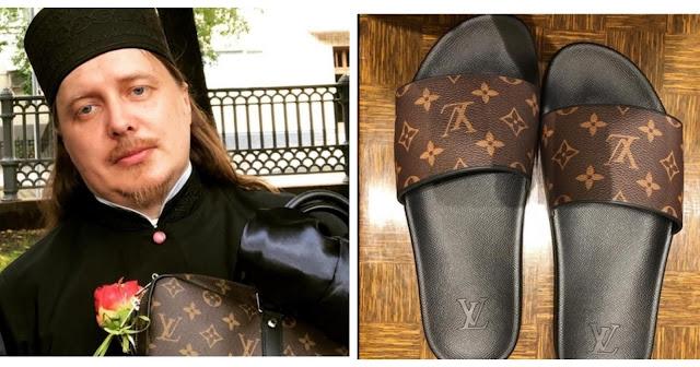 Тверской священник удалил инстаграм, где хвастался туфлями Gucci и сумками Louis Vuitton