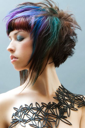 Miraculous All About Fashion Collection Colored Hairstyles Short Hairstyles Gunalazisus
