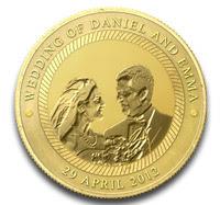 Wedding Challenge Coin