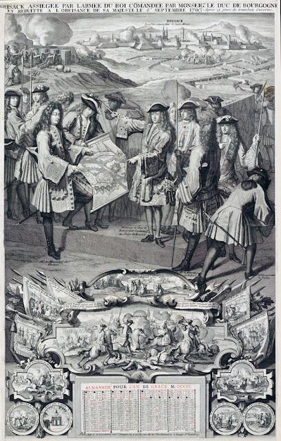 Breisach… le dernier siège de Vauban, en 1703.