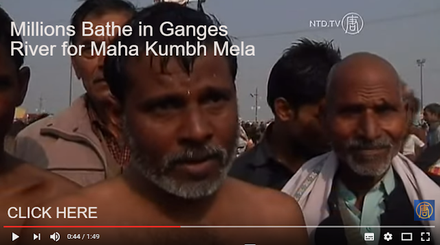 You need to see The Ganges, a River of Souls