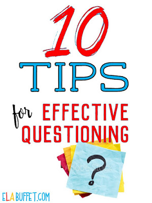 Learning how to ask questions effectively has made a HUGE difference in my classroom! Read this blogpost to find out how to design questions, promote inquiry, and improve teacher/student relationships in your classroom. Very helpful!