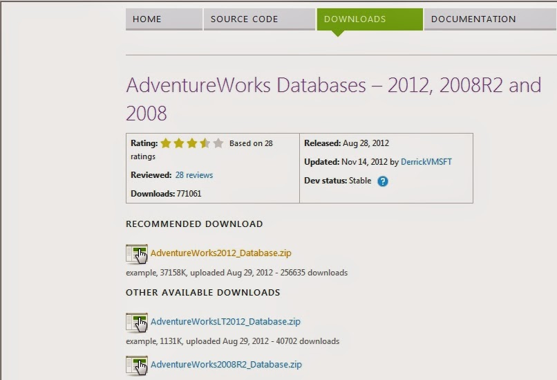 Ankush Wasankar Blogs   : Sample databasse download and use it is in