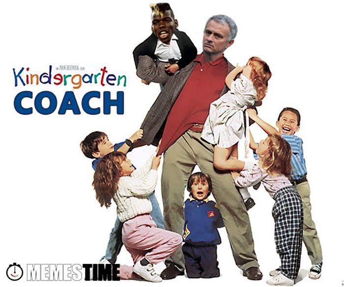 Memes Time Man United, José Mourinho  e Paul Pogba - Quem não aposta nas Formações, paga Milhões
