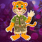 Games4King Cartoon Tiger Escape From Real Cave Walkthrough