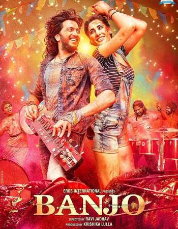 Poster Of Banjo 2016 Hindi 350MB HDTVRip 480p Watch Online Free Download downloadhub.in