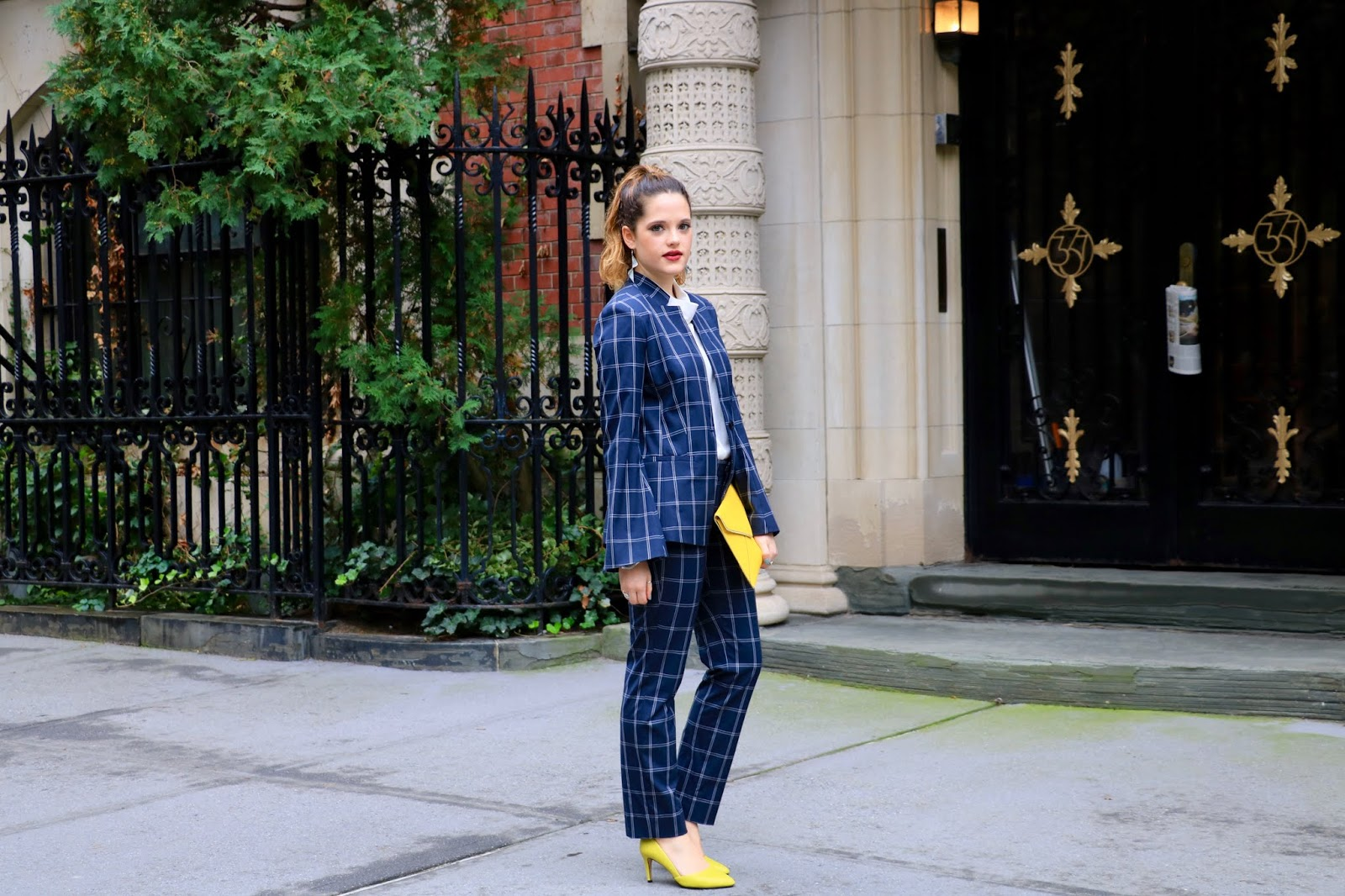 Nyc fashion blogger Kathleen Harper's work outfit ideas