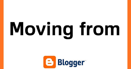 Moving from Blogger to WP
