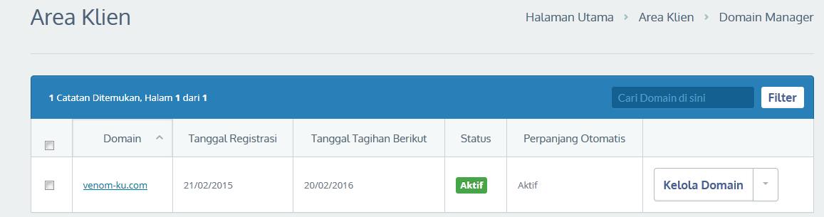 domain aktif