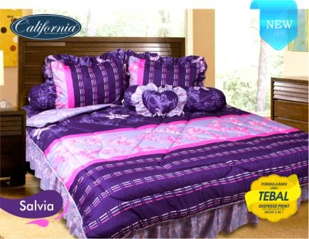 Sprei california motif Salvia
