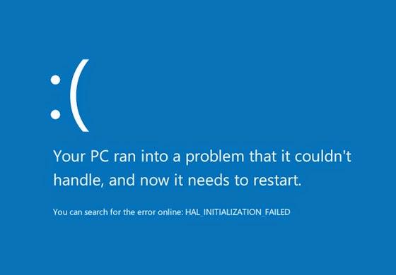 Mengatasi Blue Screen Windows 10 TP