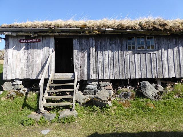 Lofoten kabelvag musée etnographique  : intérieur d'une Maison de pêcheur