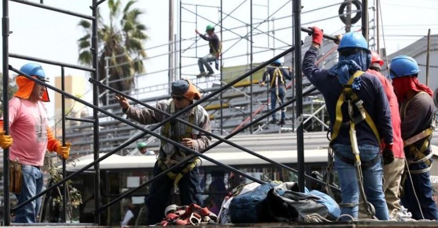 GRAN PARADA MILITAR: Cierran vías auxiliares de la avenida Brasil para instalar tribunas del desfile por Fiestas Patrias