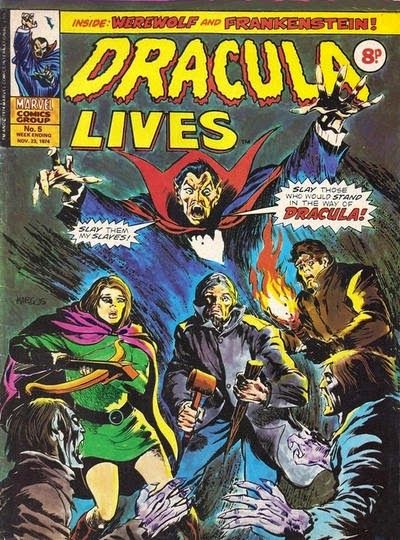 Marvel UK Dracula Lives #5