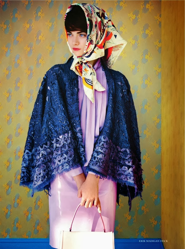 Antonina Vasylchenko In Sweet Sixties By Erik Madigan Heck - Cool Chic Style Fashion