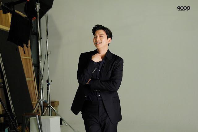 孔劉拍啤酒廣告太有魅力 經紀公司SOOP公開第二波花絮照
