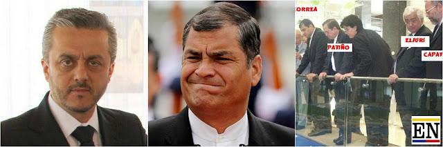 Rafael Correa y Grupo Juan Eljuri