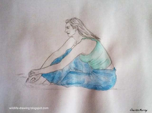 Figure drawing art