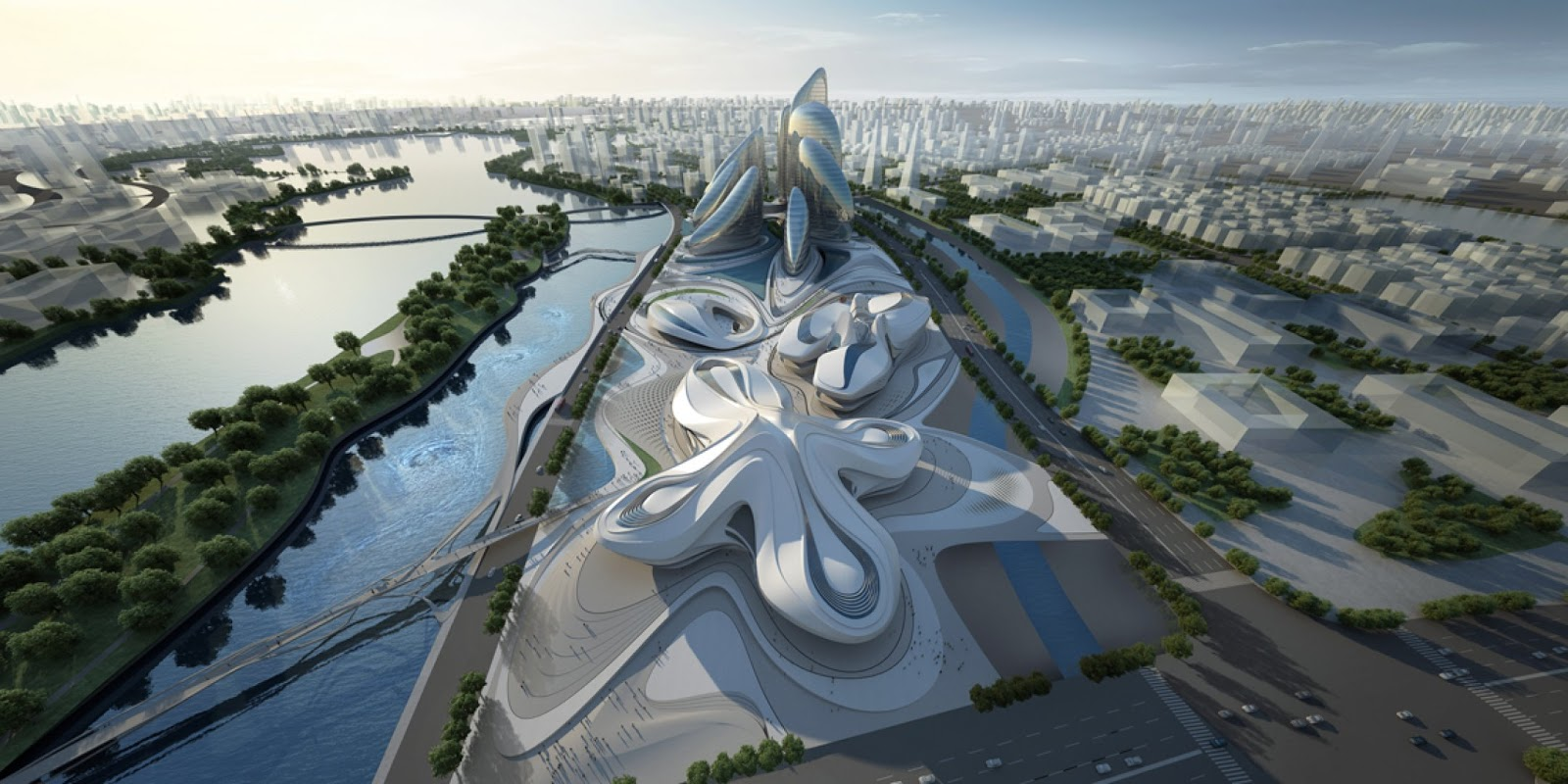 World of Architecture: Modern Architecture By Zaha Hadid ...