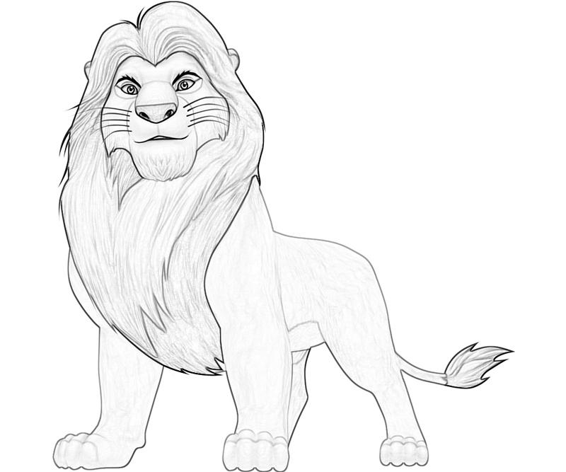 The Lion King Simba Characters | Yumiko Fujiwara
