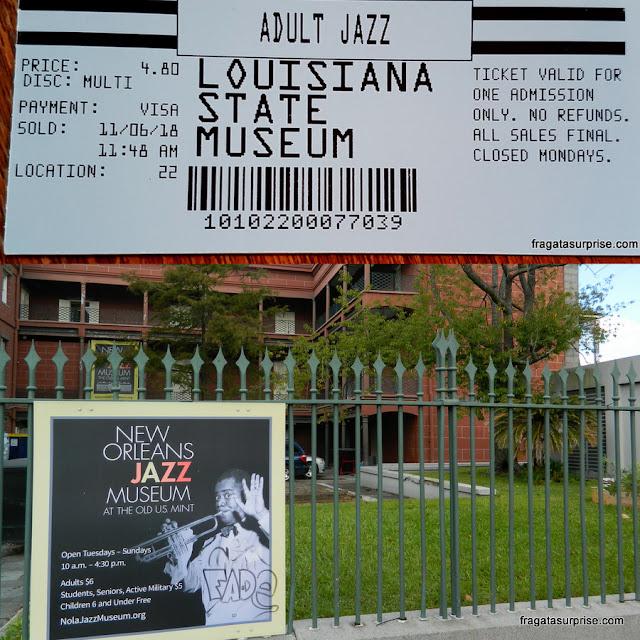 Museu do Jazz de Nova Orleans