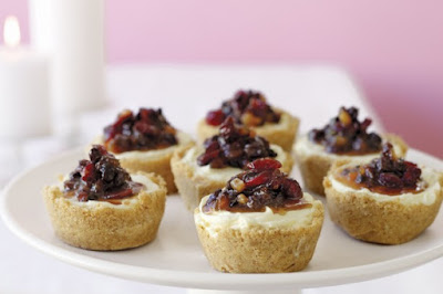 Mini fruit-mince cheesecakes desserts recipes