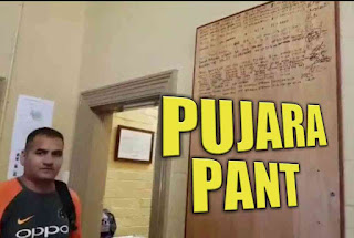 Pujara-Pant honoured for their spectacular performance, signs on SCG's special honour boar