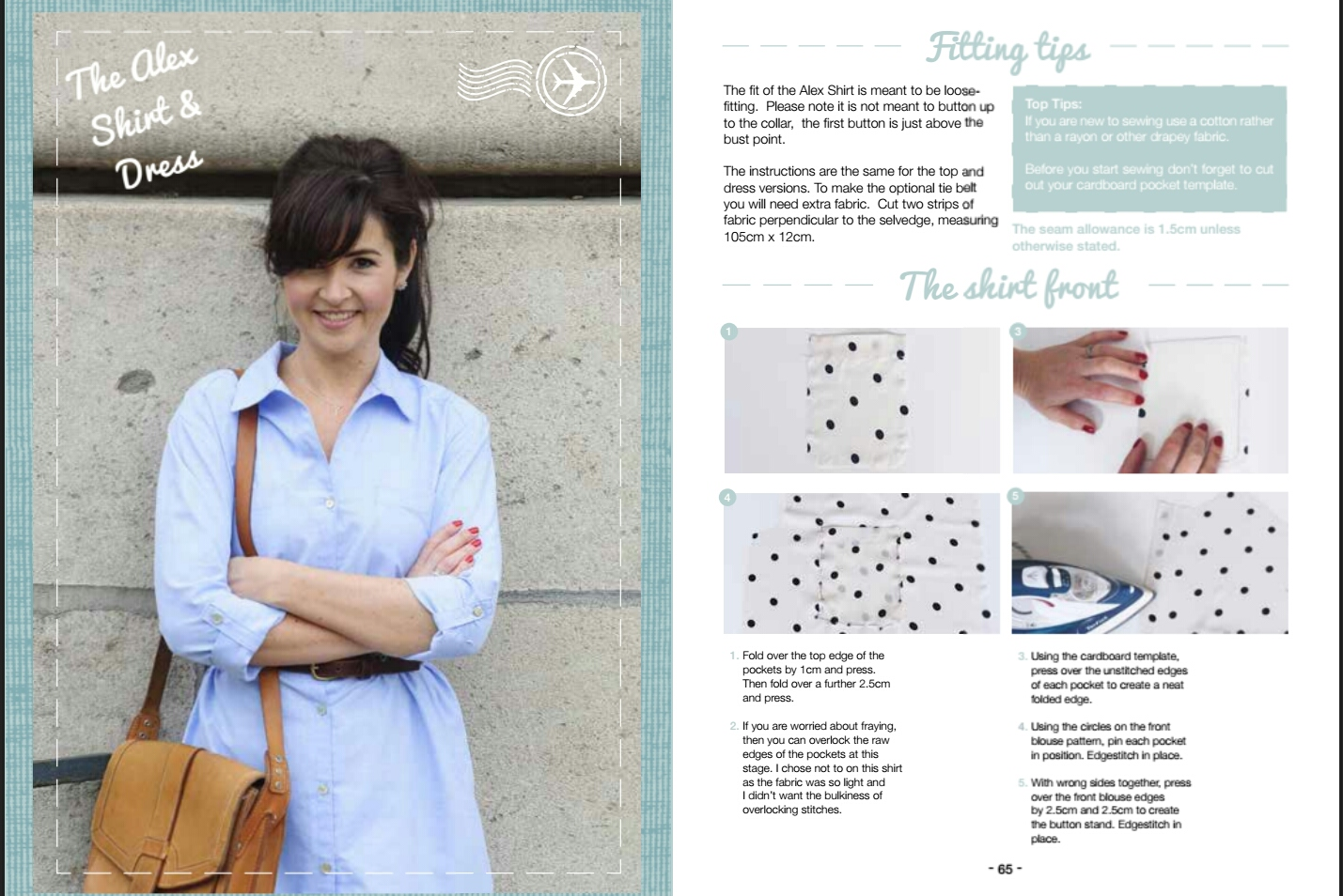 Sew Over It Alex Shirt eBook