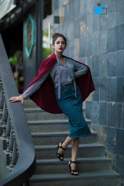 Lavanya Tripathi Latest Photoshoot for Red Magazine