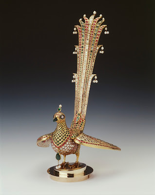 huma bird from the canopy of the throne of tipu sultan