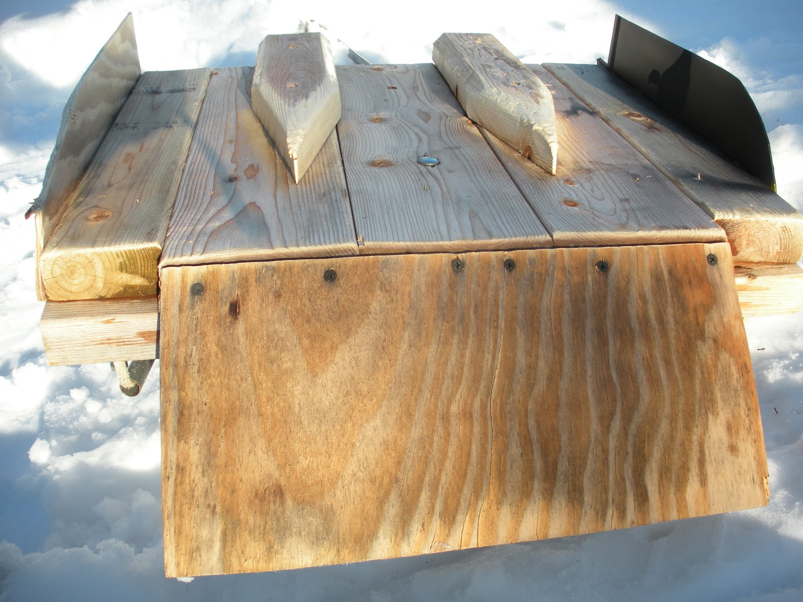 A Copper Country Homestead How To Build A Track Setter